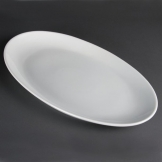 Olympia French Deep Oval Plates 500mm