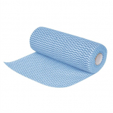 Jantex Non Woven Cloths Blue (Roll of 100) (Pack of 100)