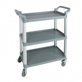 Nisbets Essentials Polypropylene Compact Mobile Trolley