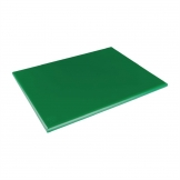 Hygiplas Extra Thick Low Density Green Chopping Board Large