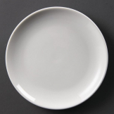 Olympia Whiteware Coupe Plates 200mm (Pack of 12)