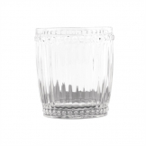 Olympia Baroque Whiskey Glasses Clear 325ml