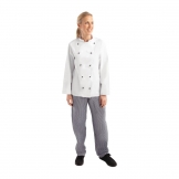 Whites Chicago Unisex Chefs Jacket Long Sleeve S