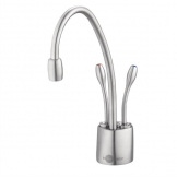 Insinkerator Steaming Hot and Cold Water Tap HC1100 Brushed Steel
