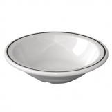 Kristallon Black Band Melamine Bowls 150mm (Pack of 12)