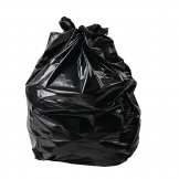 Jantex Large Extra Heavy Duty Black Bin Bags 120Ltr (Pack of 100)