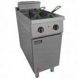 Falcon 400 Series Twin Tank Twin Basket Free Standing Electric Fryer E421
