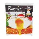 Poachies 100 Disposable Egg Poachers (Pack of 100)