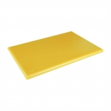 Hygiplas Extra Thick High Density Yellow Chopping Board Standard