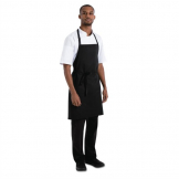Chef Works Basic Bib Apron Black