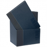 Securit Contemporary Menu Covers and Storage Box A4 Blue