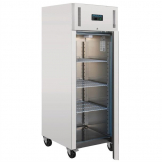 Polar Heavy Duty Single Door Fridge Stainless Steel 650Ltr