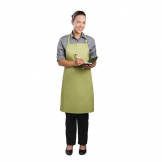 Chef Works Bib Apron Lime
