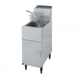 Dean Single Tank Twin Basket Free Standing Propane Gas Fryer SR42