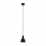 Eglo Priddy Steel Shade Pendant