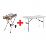 SPECIAL OFFER Buffalo Folding Gas Barbecue And Free Folding Table