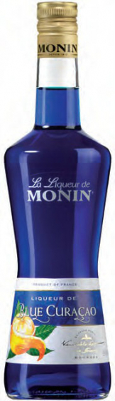 Monin - Blue Curacao Liqueur (70cl Bottle)