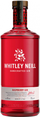 Whitley Neill - Raspberry Gin (70cl Bottle)