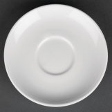 Royal Porcelain Classic White Espresso Cups Saucer 125mm (Pack of 12)