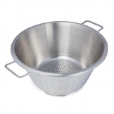 DeBuyer Stainless Steel Conical Colander With Two Handles 40cm