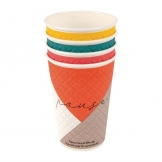 Huhtamaki Pause Disposable Coffee Cups Double Wall 455ml / 22oz (Pack of 620)