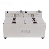 Buffalo Twin Tank Twin Basket 2x5Ltr Countertop Fryer 2x2.8kW