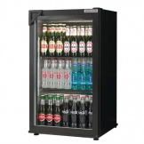 Autonumis Popular 1 Door Back Bar Cooler Black A209179