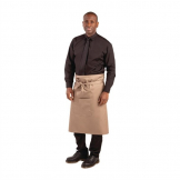 Whites Regular Bistro Apron Tan