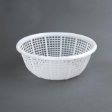 Vogue Round Colander White 290mm