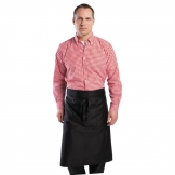 Chef Works Mens Gingham Shirt Red M