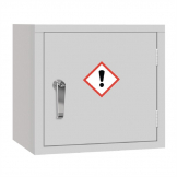 COSHH Cabinet Single Door Grey 3Ltr
