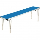 Gopak Contour Stacking Bench Blue 5ft