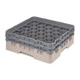Cambro Camrack Beige 30 Compartments Max Glass Height 133mm