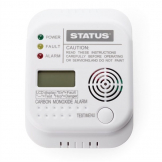Status Carbon Monoxide CO Digital Alarm