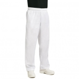 Chef Works Essential Baggy Pants White 2XL