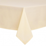 Essentials Occasions Tablecloth Ivory 137 x 137cm (120 TC, Polyester)
