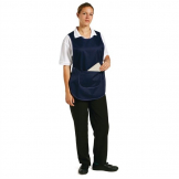 Tabard With Pocket Navy Blue