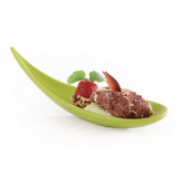 APS Boat Canape Spoon 145mm Green