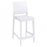 Spice Mid Height Bar Stool 65 - White