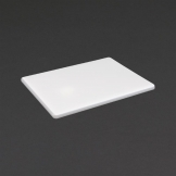 Hygiplas Low Density White Chopping Board Small