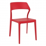 Snow Side Chair - Red