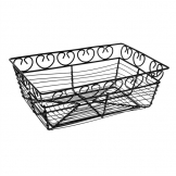Olympia Black Wire Basket