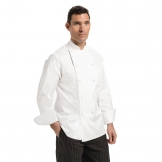 Chef Works Unisex Madrid Chef Jacket White Size 38