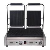 Buffalo Double Ribbed Contact Grill