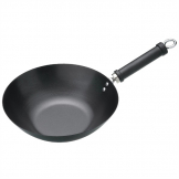 Kitchen Craft Non Stick Flat Base Wok 305mm