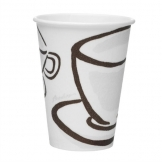 Benders Milano Barrier Disposable Hot Cups 340ml / 12oz (Pack of 1000)