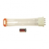 HyGenikx System Shatter-proof Replacement Lamp and Battery Orange Cap HGX-10-F