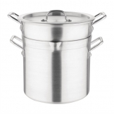 Vogue Aluminium Double Boiler Pan 10Ltr