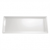 APS Pure Melamine Rectangular Tray White 650mm