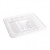 Vogue Polycarbonate 1/6 Gastronorm Lid Clear